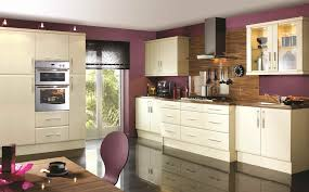 Purple Kitchens by Eco Kitchen Range