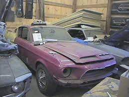 1967 ford mustang shelby gt350 for sale barn find 1968 shelby gt350 r i p vehicles ford