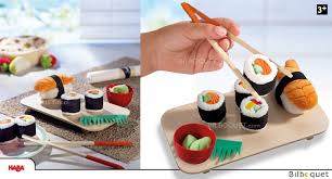 jeu de cuisine sushi sushi jeu d imitation haba biofino haba epicerie haba
