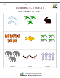 free printable counting sheets for preschoolers coloring pages
