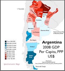 Map Argentina Geocurrents Maps Of Argentina Geocurrents