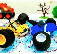 ice crash monster trucks toy trucks videos kids toy cars