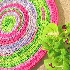 Lavender Nursery Rugs Rag Rug