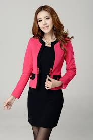 ladies dress and jacket suits dress yy