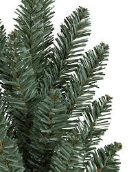 classic blue spruce narrow artificial tree balsam hill