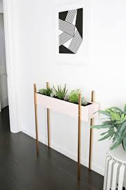 Large White Planter by Plant Stand White Ceramic Planter With Standindoor And Stand