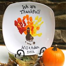 keepsake plate thanksgiving turkey foot print keepsake plate baby calendar