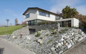 moderne möbel und dekoration ideen tolles steingarten vor dem