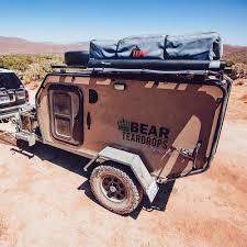 jeep camping trailer buy the best teardrop trailer bear teardrops trailers
