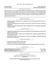 Resume Template For Secretary Career Level U0026 Life Situation Templates Resume Genius