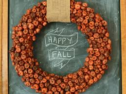 fall wreaths 8 diy fall wreaths to dress up your front door hgtv s decorating