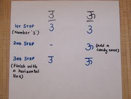 learning to write hindi