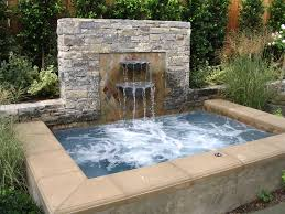 great tub project with water feature would made a perfect diy