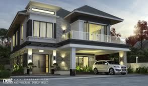 design villa modern home designs new house plans kerala indian home design free