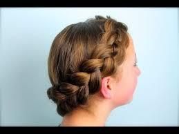 plait at back of head hairstyle wrap around dutch pancake braid cute girls hairstyles youtube