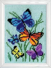 butterflies needlepoint kits 123stitch
