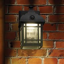 battery operated porch lights wireless porch light cordless motion sensor outdoor 13 black series