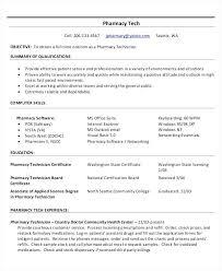pharmacy technician resume pdf best example inpatient u2013 inssite