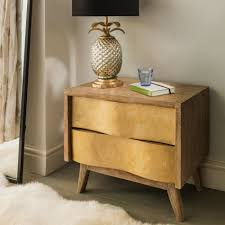 Bed Side Tables by Furniture Home Malm Chest Of Drawers White Stained Oak Veneer