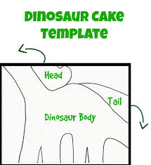 dinosaur cake template oliver u0027s 4 pinterest cake templates