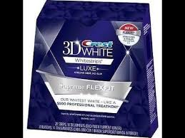 crest supreme whitening strips blanchir ses dents avec crest whitestrips videomoviles