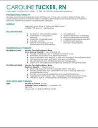 Nurse Resume Samples by Icu Rn Resume Examples Http Www Jobresume Website Icu Rn