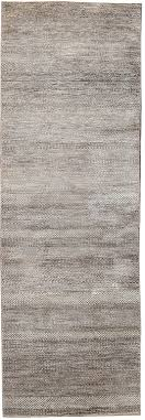 Indian Runner Rug Contemporary 2 X 10 Indian Runner Rug In A Grey Brown Background