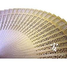 folding fans folding sandalwood fans for weddings and decoration