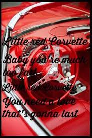 prince corvette lyrics corvette done by the gear daddies