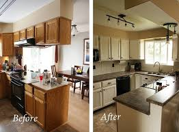Easy Kitchen Renovation Ideas Inexpensive Kitchen Remodel Before And After Inexpensive Kitchen
