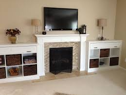 Fireplace Mantels With Bookcases Fireplace Mantels And Bookcases Home Design Popular Top To