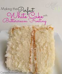 making a bakery quality white cake with buttercream frosting to