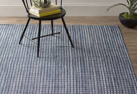 Checkerboard Area Rug Dash And Albert Rugs Coco Hand Woven Blue Indoor Outdoor Area Rug