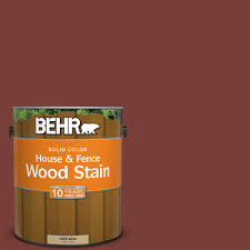 behr 1 gal sc 152 red cedar solid color house and fence wood