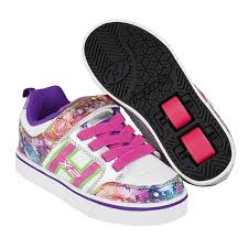 rainbow light up shoes heelys x2 bolt plus light up white silver rainbow heelys shoes
