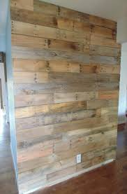 wood covered walls home design