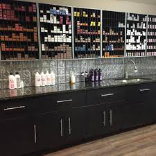 Multi Color Under Cabinet Lighting by Each Stylist Would Have Their Own Section Developer Bottles