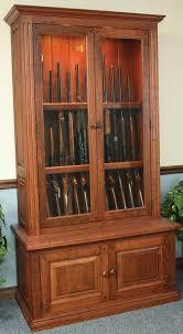 Plans For Gun Cabinet Gun Cabinet Plans Plans For Building A Cabinet Oak Gun Cabinet