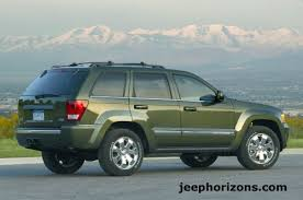 green jeep grand cherokee jeep horizons 2009 jeep grand cherokee gets powerful boost from