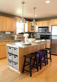 oak cabinets with granite counters google search kitchen
