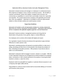 monster resume examples about spherotech ethics conduct