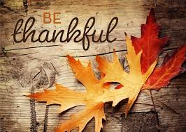 thanksgiving day history and being thankful for blessings