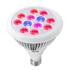 epctek led plant grow light bulb 12w grow plant light for indoor