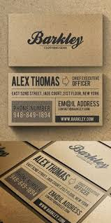 What Makes A Great Business Card - i like vintage and want to position myself as what the old timers