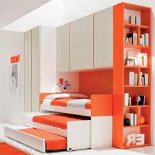 very cool designs for kids bedroom design with bright orange color very cool designs for kids bedroom design with bright orange color book shelves corner bedroom furniture for kids modern orange bedroom 2017 1