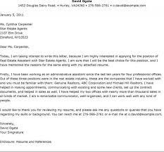 sle resume cover letter real estate sle letters endowed depict addition cover letter