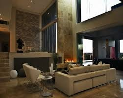 amazing open plan modern homes interior design with living room