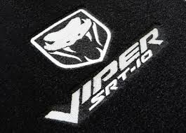logo dodge dodge viper srt 10 custom floor mats 2003 2008