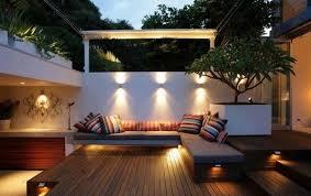 Garden Wall Lights Patio Led Landscape Lighting Garden Decorating Ideas Light Accents