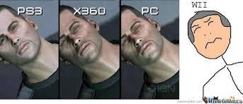 Meme Centar - ps3 vs xbox vs pc vs wii meme center gentlemint